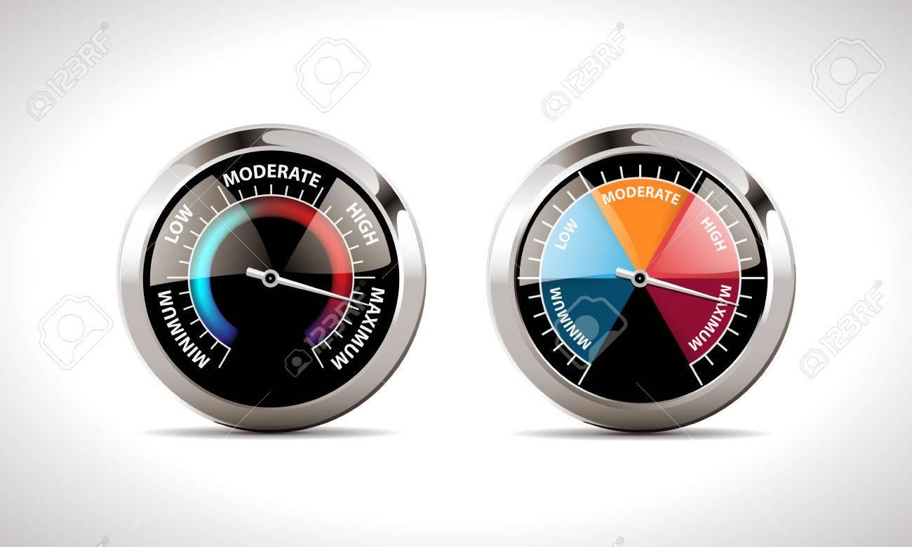 Speedometer concept - 48523552