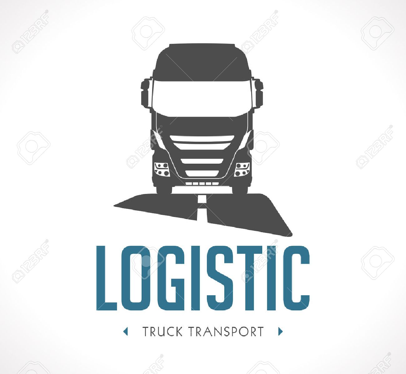 logo logistic truck royalty free cliparts vectors and stock