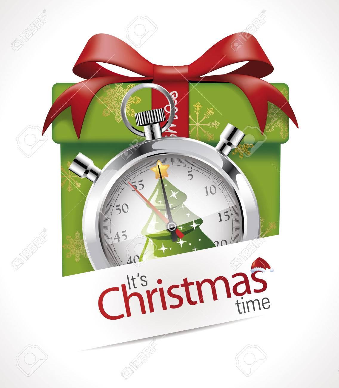 Stopwatch - Christmas time - 48446856