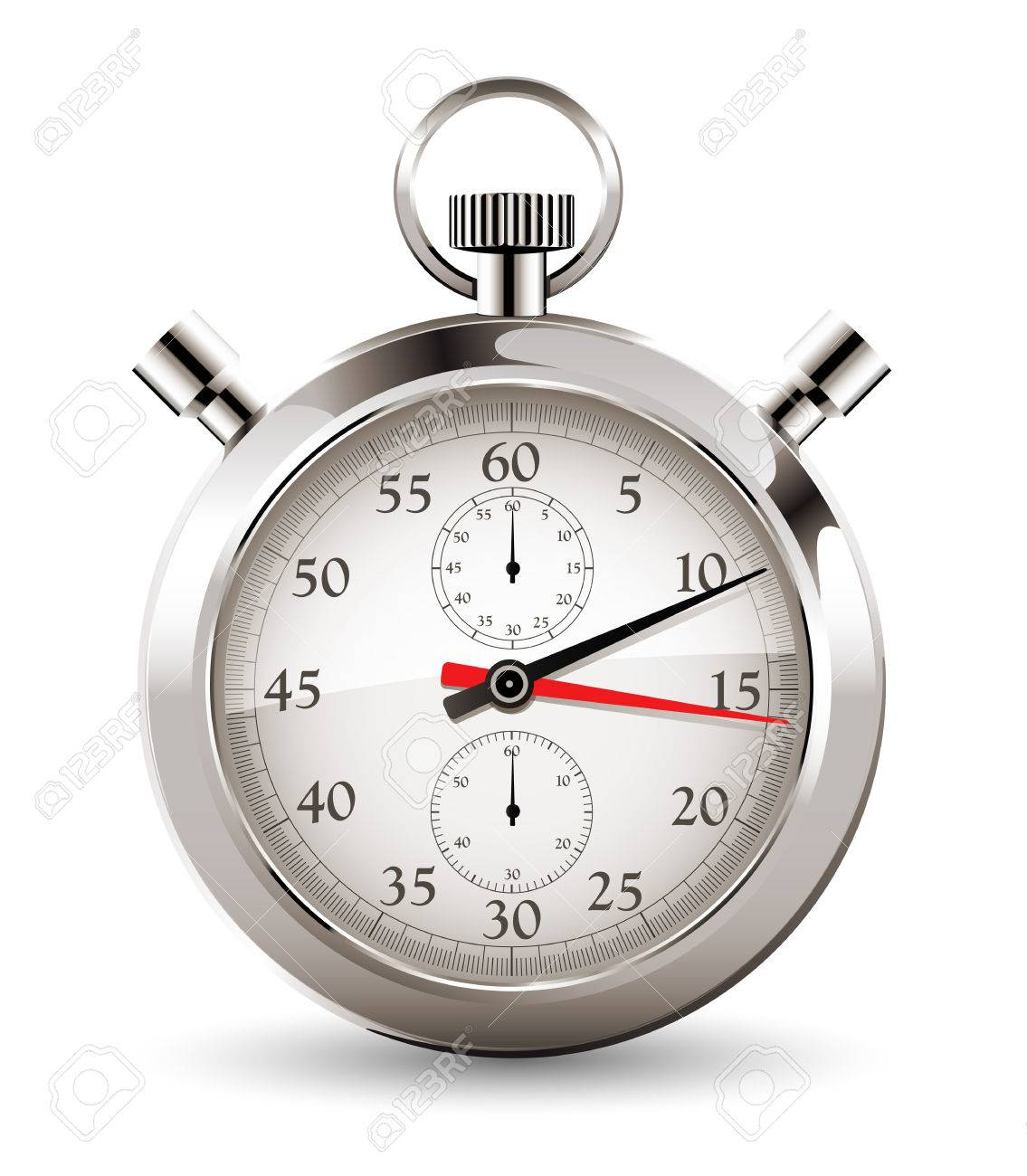 Stopwatch - clock and time concept - 48445882