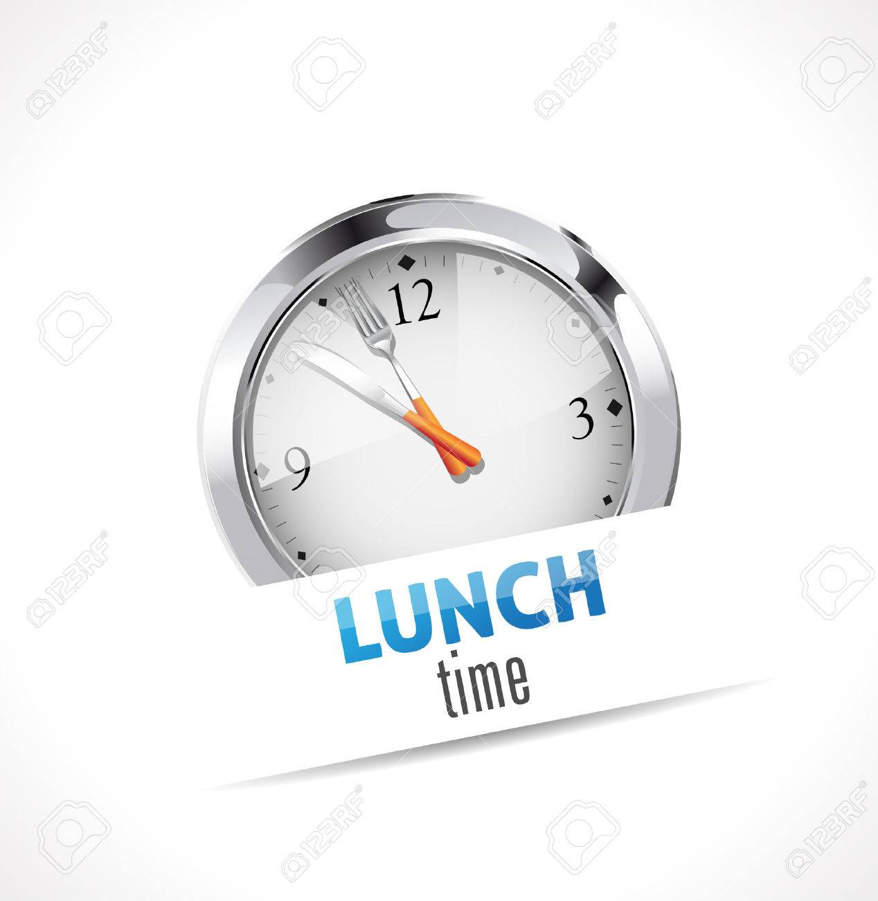 Stopwatch - Time for Lunch - 48445274