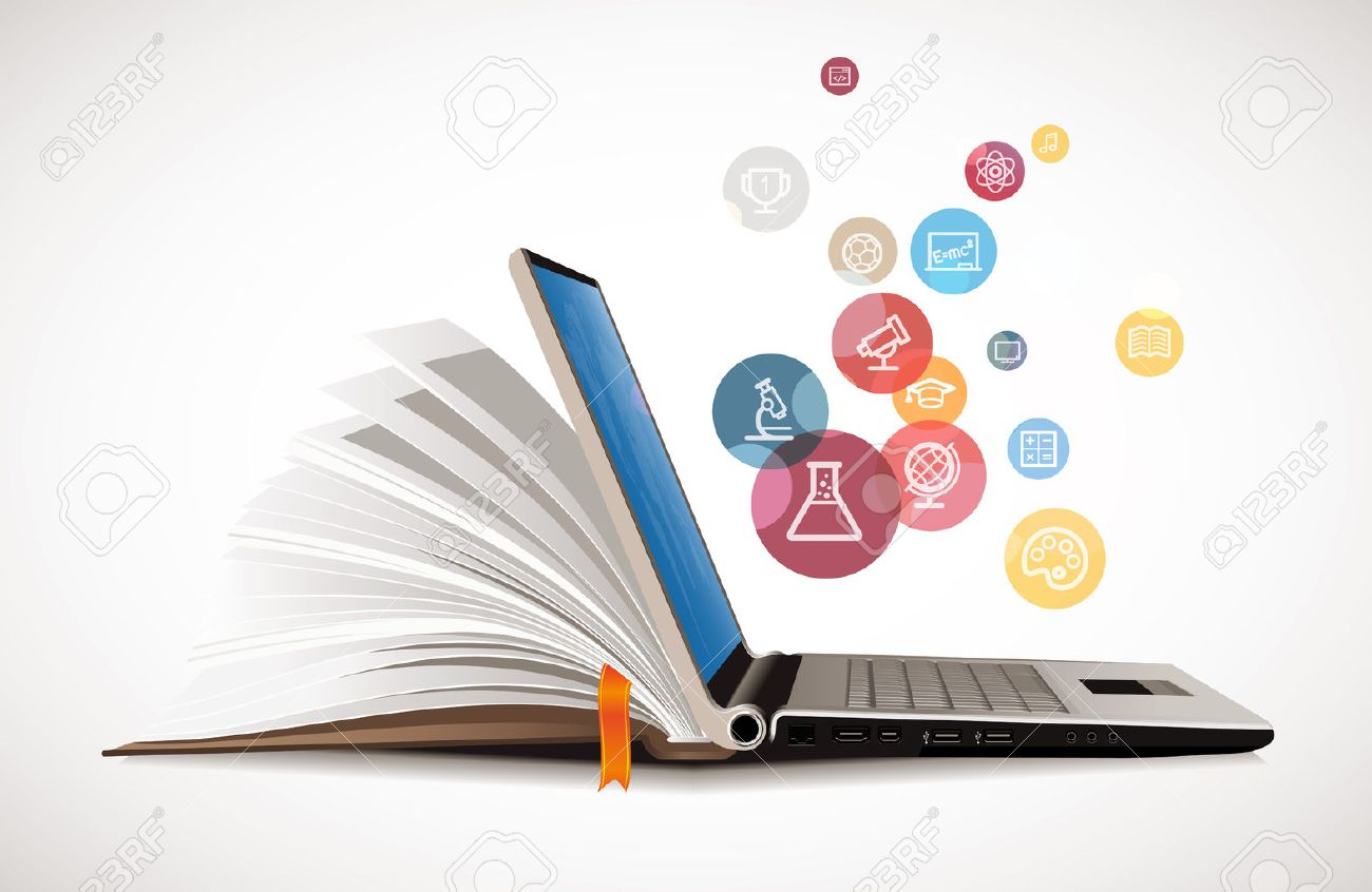IT Communication - E-learning - the internet network as knowledge base - 49251491