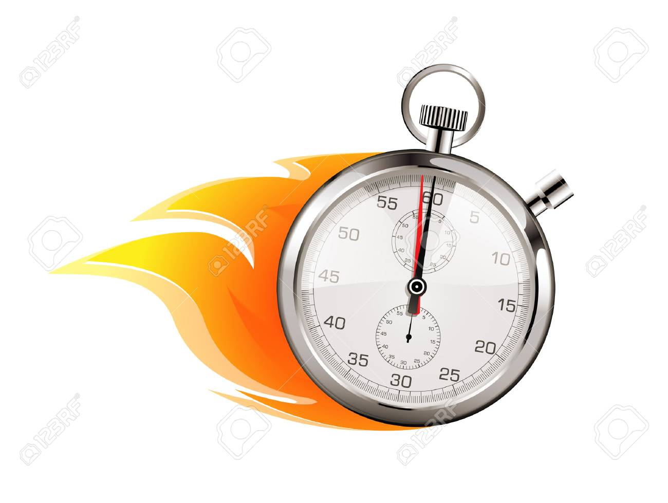 Faster - business concept - time is running out - 70446035