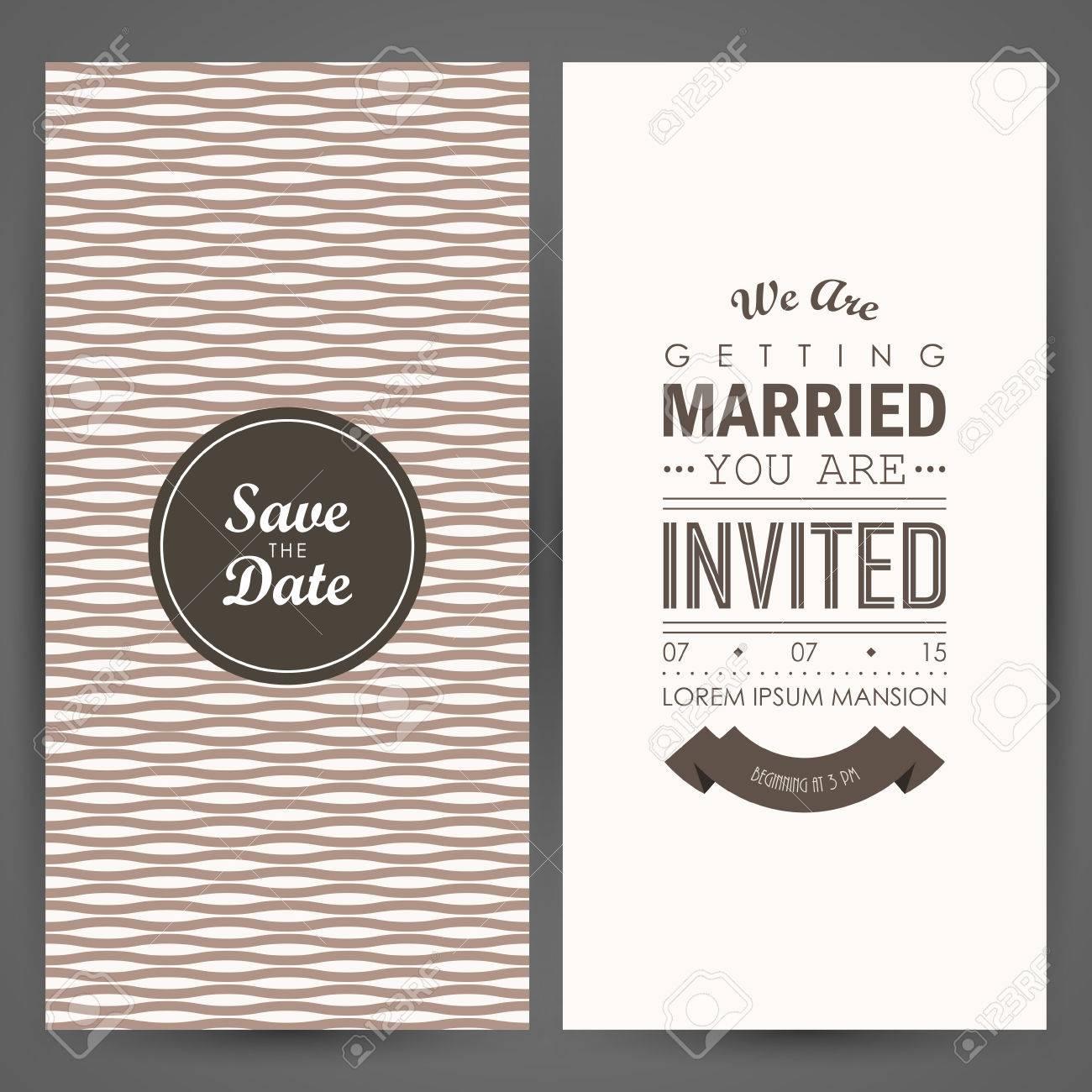 Wedding invitation vector illustration royalty free cliparts wedding invitation vector illustration stock vector 44292309 stopboris Gallery
