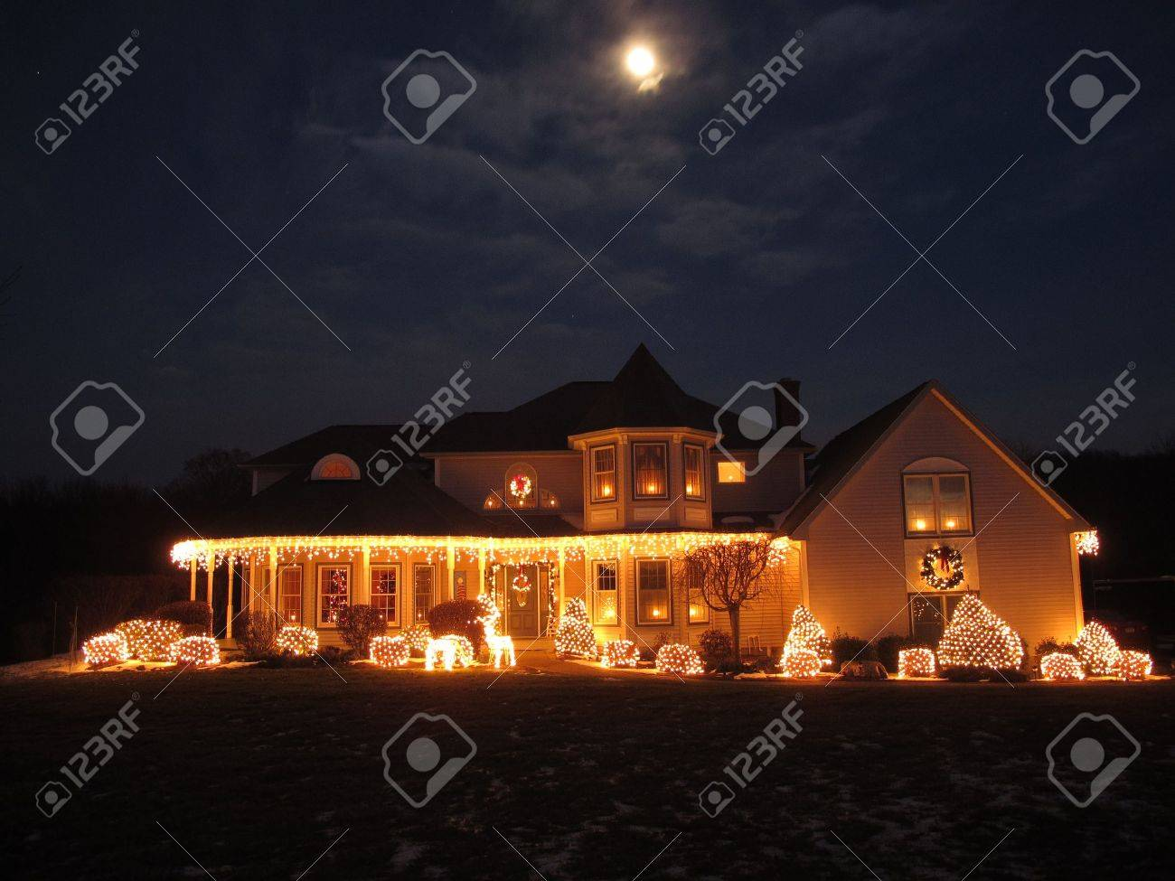 Christmas House Stock Photo - 9673598