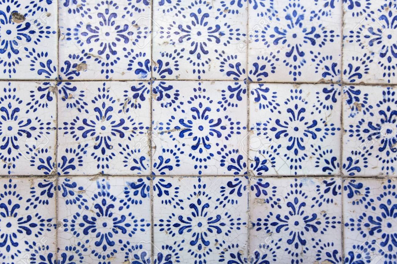 Pattern of ancient Roman tiles excavated at the ruins in Rome, Italy Stock Photo - 31462874