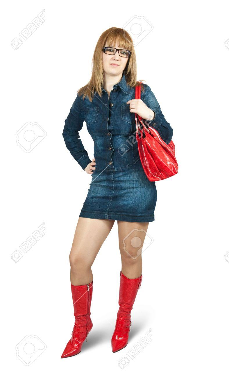 blue dress boots