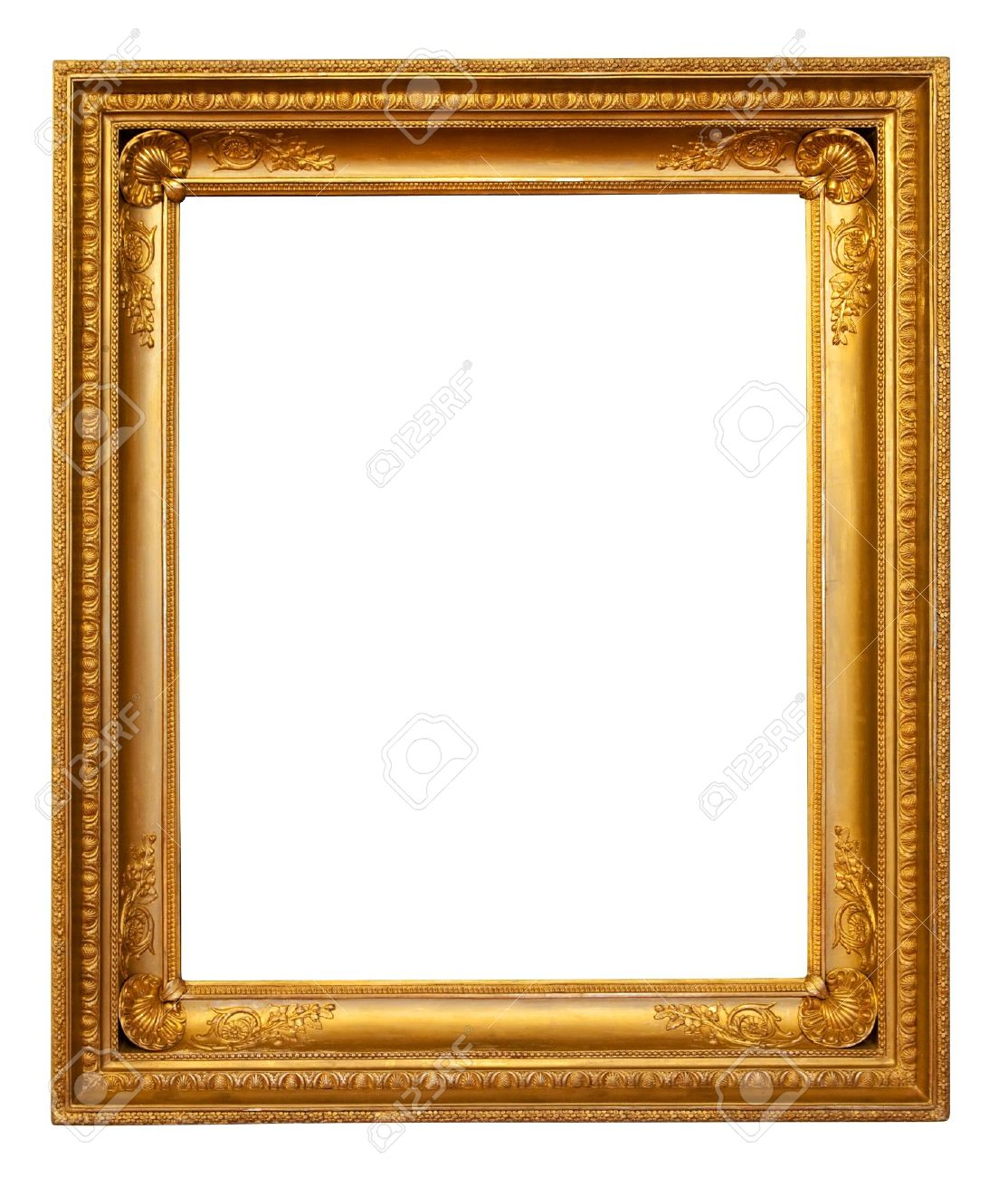 Gold Frame Stock Photo, Picture And Royalty Free Image. Image 8996706.