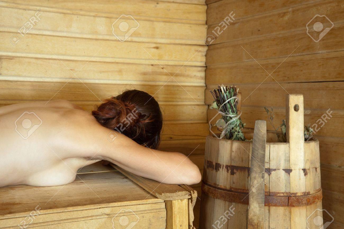 Sauna girl nackt