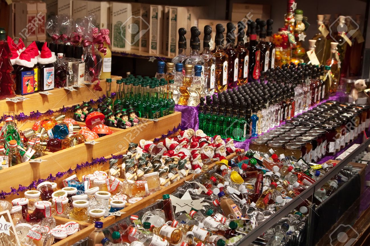 Vienna Austria November 22 Store At Christmas Markets Near