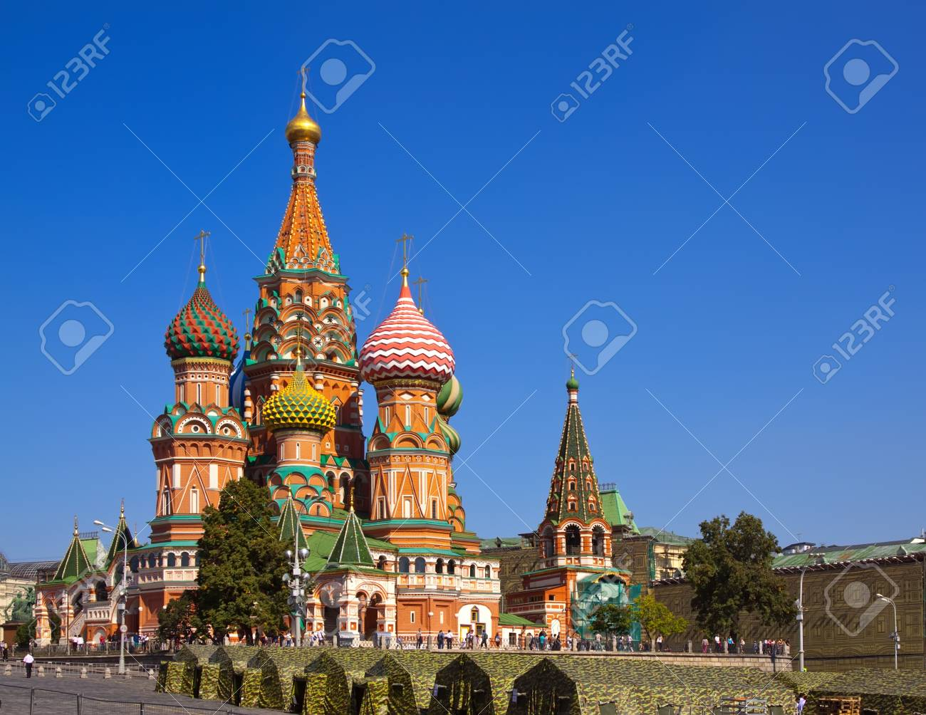 Intercession Cathedral at Red Square. Moscow, Russia Stock Photo - 12271366