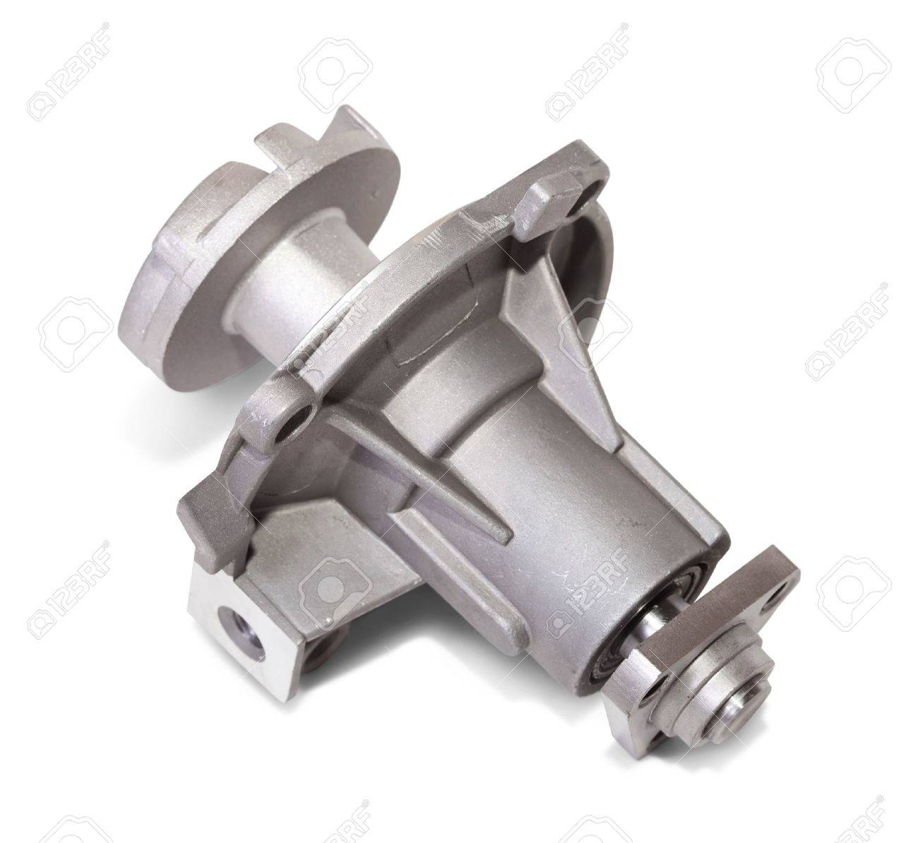 automotive water pump. Isolated on white with clipping path Stock Photo - 12942001