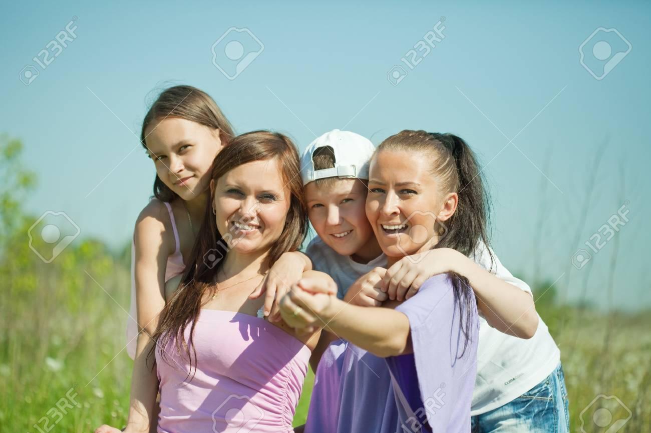 Lesbian babes having joy