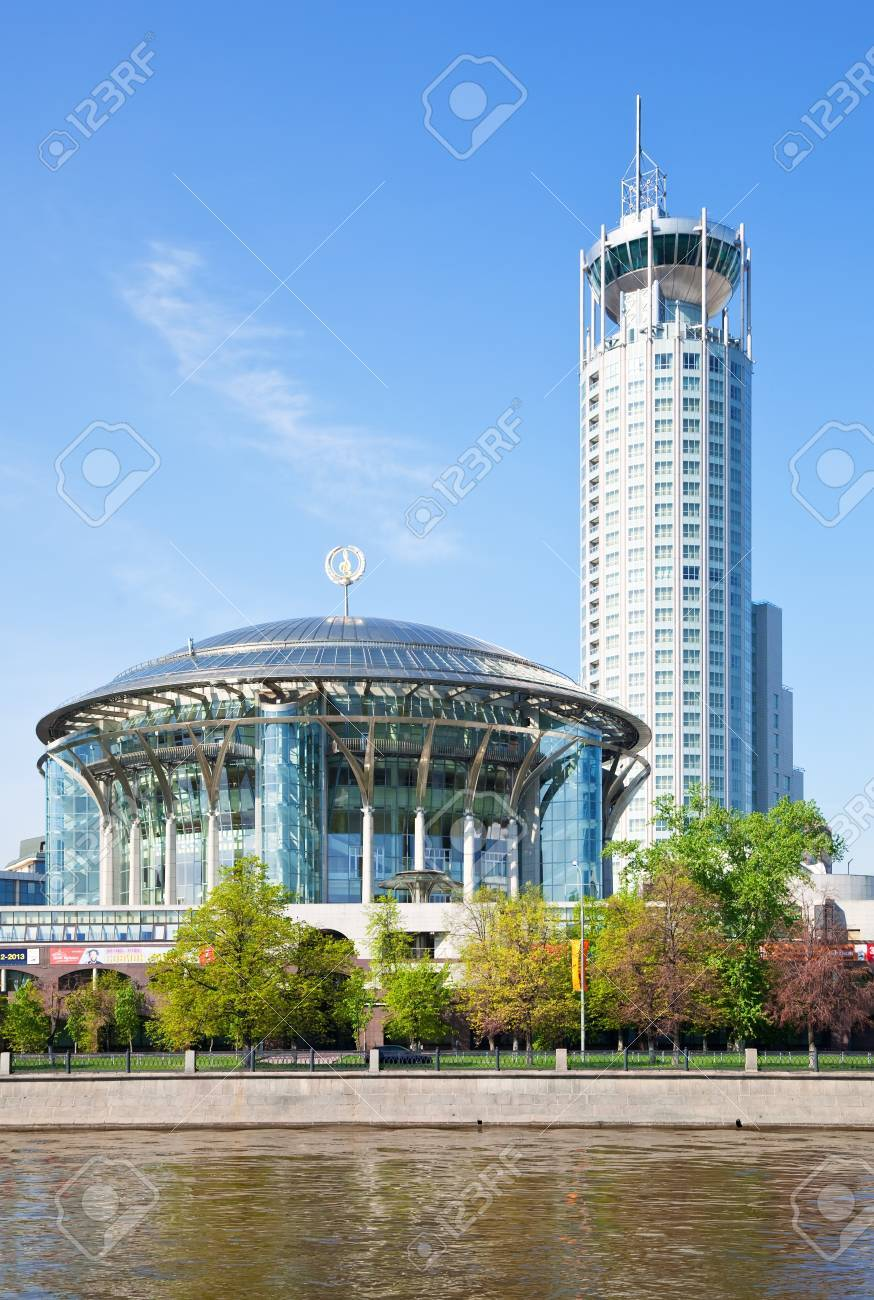 MOSCOW, RUSSIA - MAY 6: Moscow House of Music  in May 6, 2012 in Moscow, Russia.It has largest organ in Russia with more than 5,500 pipes, ranging in size from 8 mm to 9.25 m, weighs 30 tons Stock Photo - 17402405