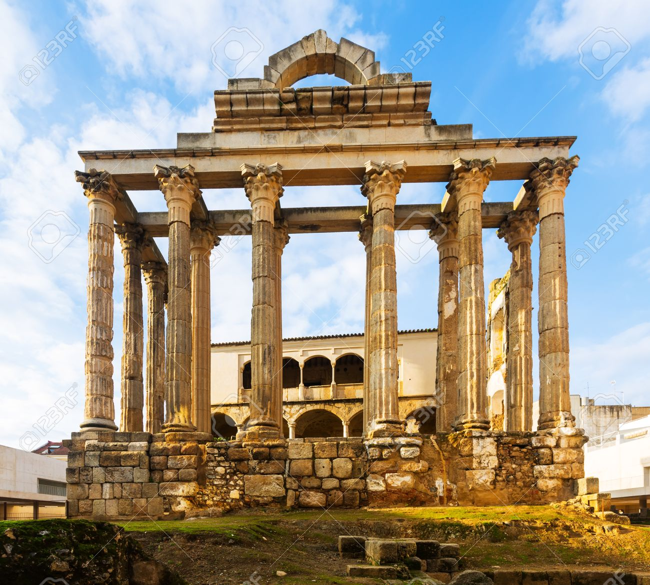 Antiguo Templo De Diana Merida Espana