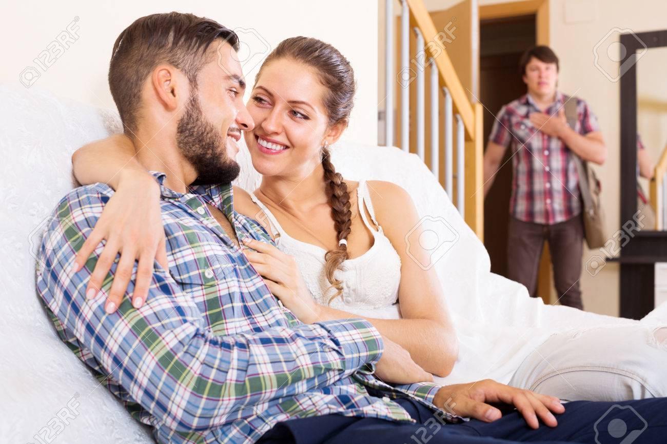 Wife Cheats Husband Work