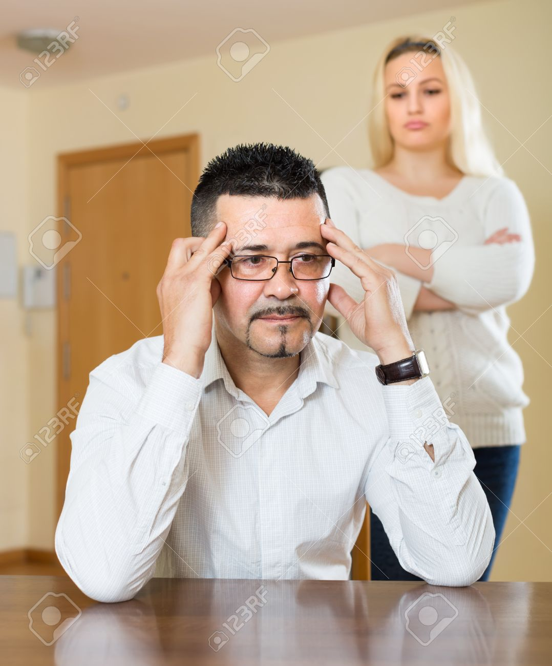 living with a depressed wife