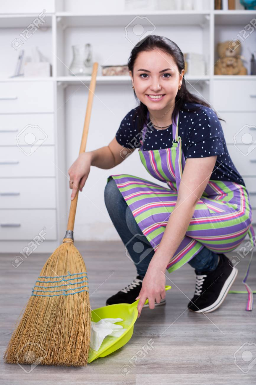 girl sweeping floor with broom and collecting garbage on plastic stock photo picture and royalty free image image 86848161 girl sweeping floor with broom and collecting garbage on plastic stock photo picture and royalty free image image 86848161
