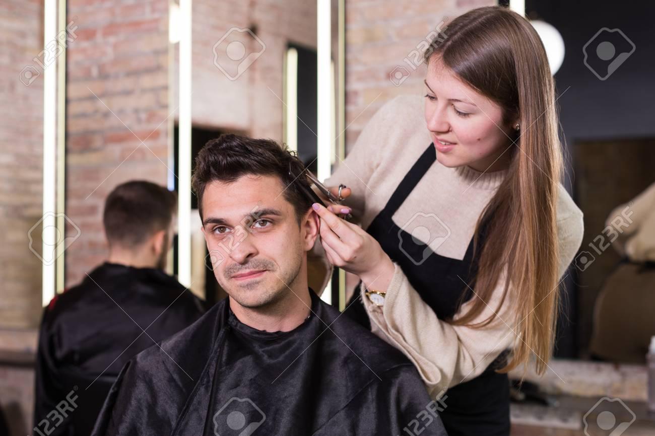Getting A Haircut 7