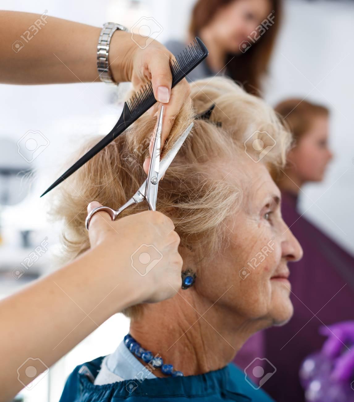 Getting A Haircut 34