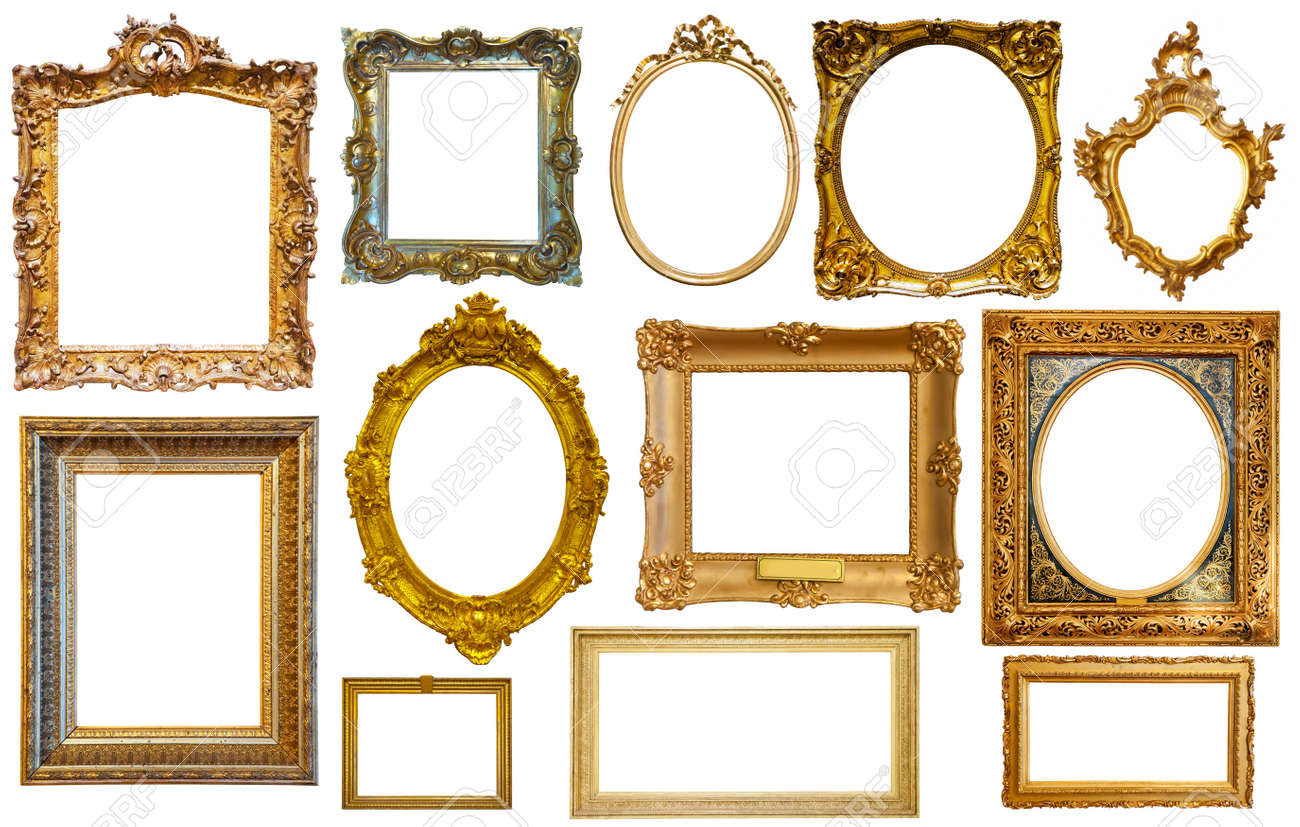 assortment of isolated frames - 158413319