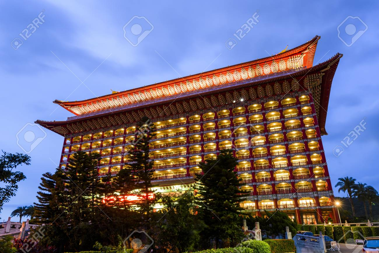 View Of The Grand Hotel Taipei In A Sunny Day In Taipei Taiwan Stock Photo Picture And Royalty Free Image Image 93826516