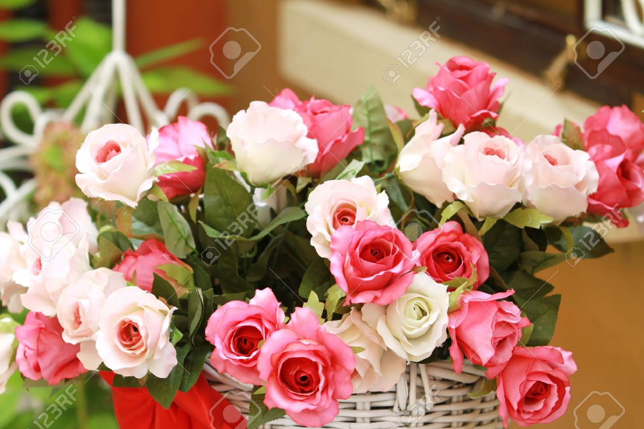 Big Pink Roses Bouquet Stock Photo - 7520657