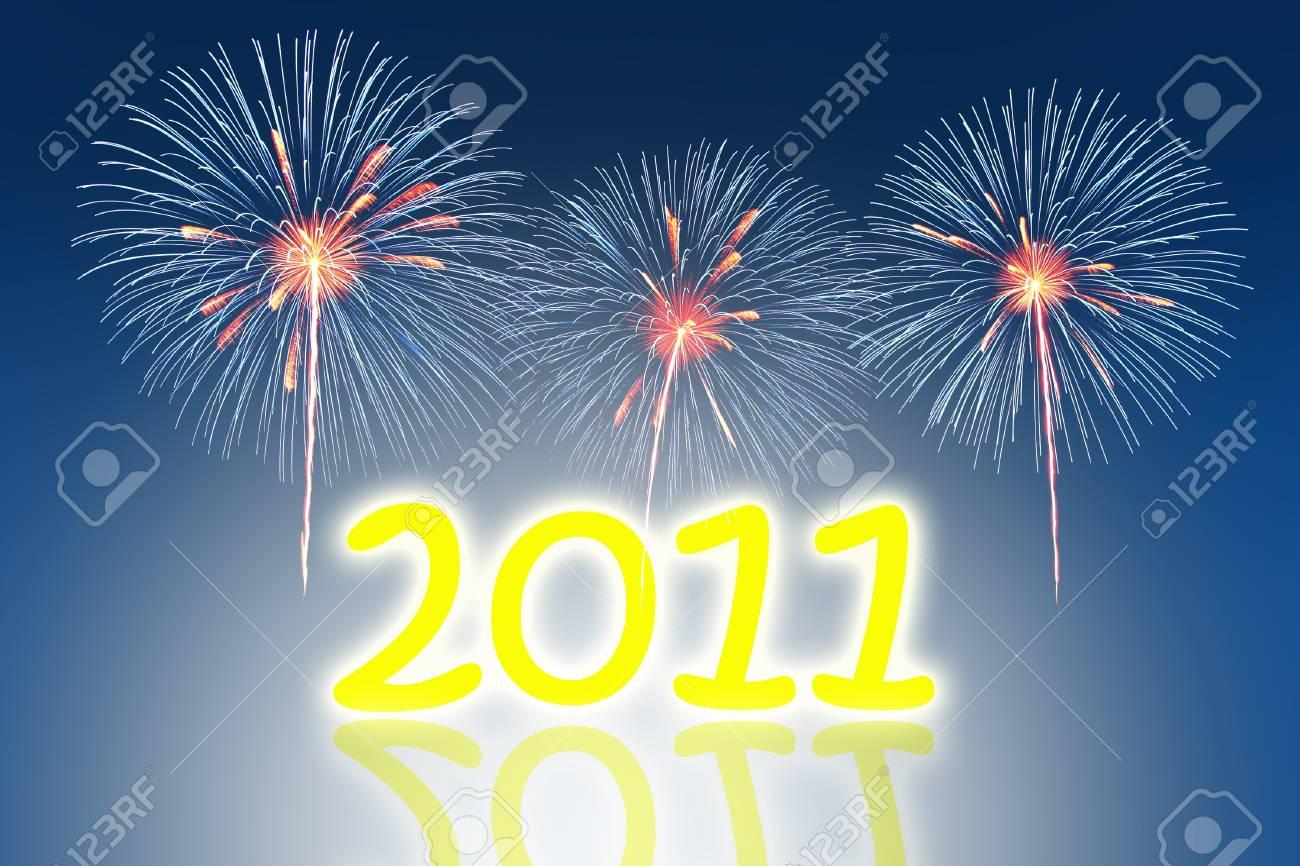 new year 2011 Stock Photo - 8391654