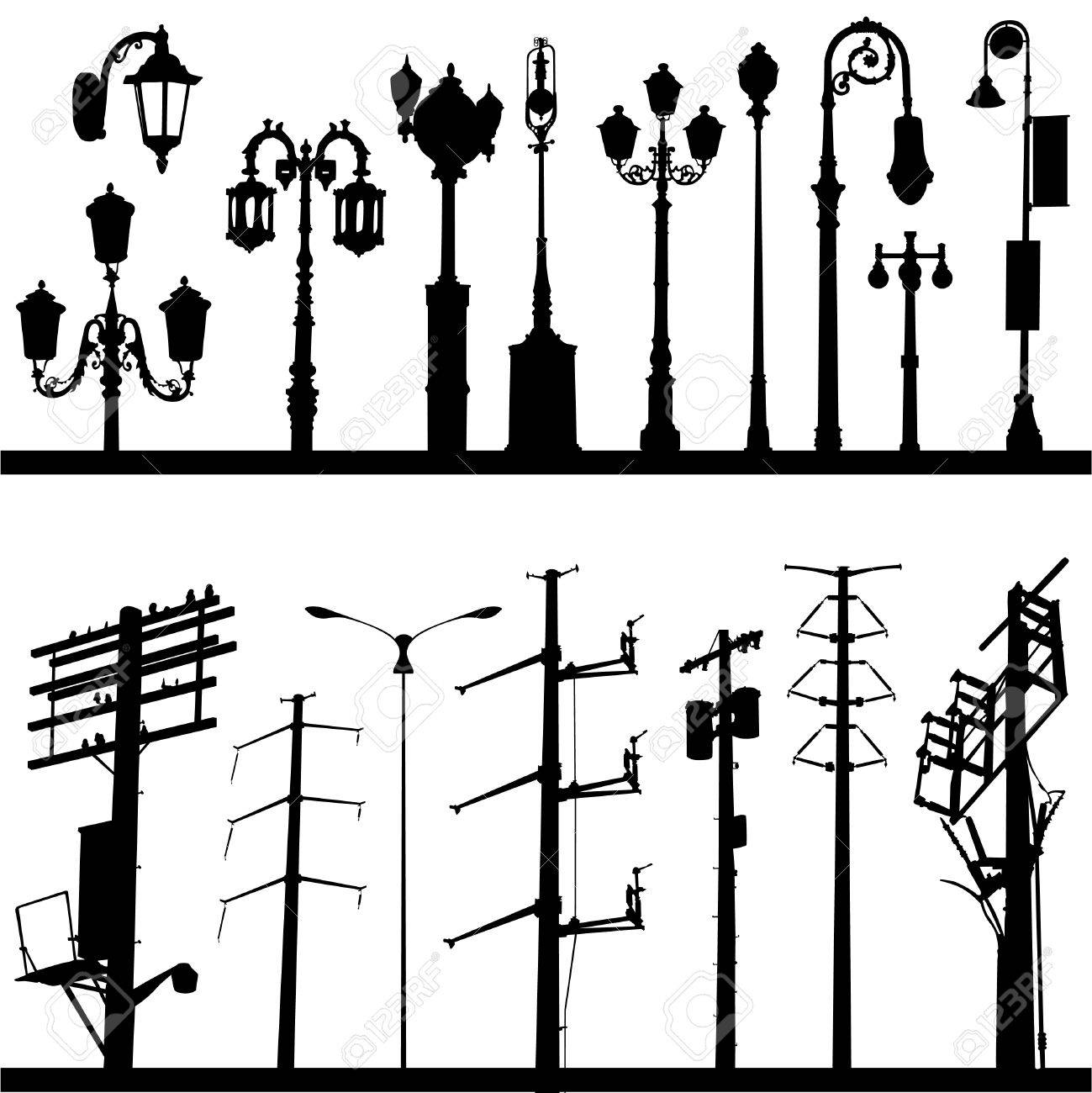 city objects Stock Vector - 8325143