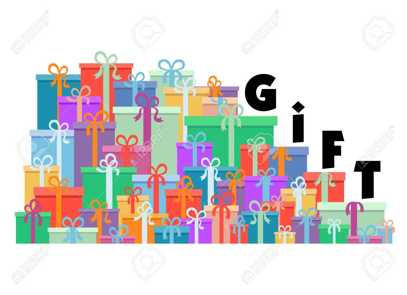 gift stair Stock Vector - 8333847
