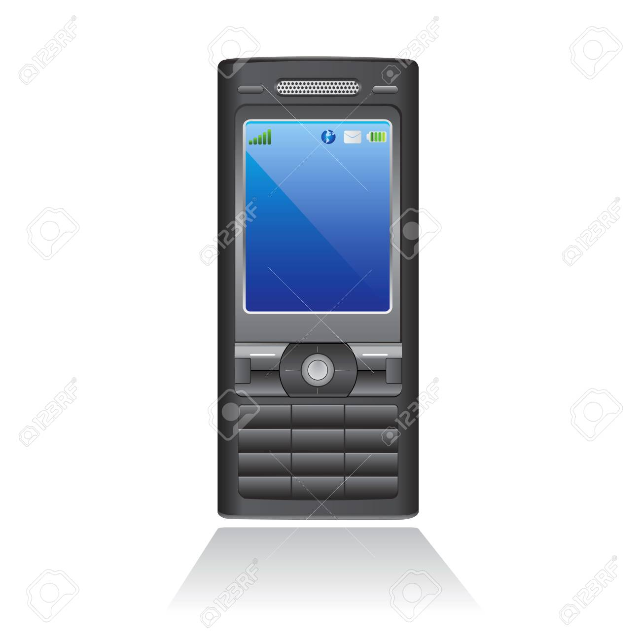 mobile phone Stock Vector - 8684880