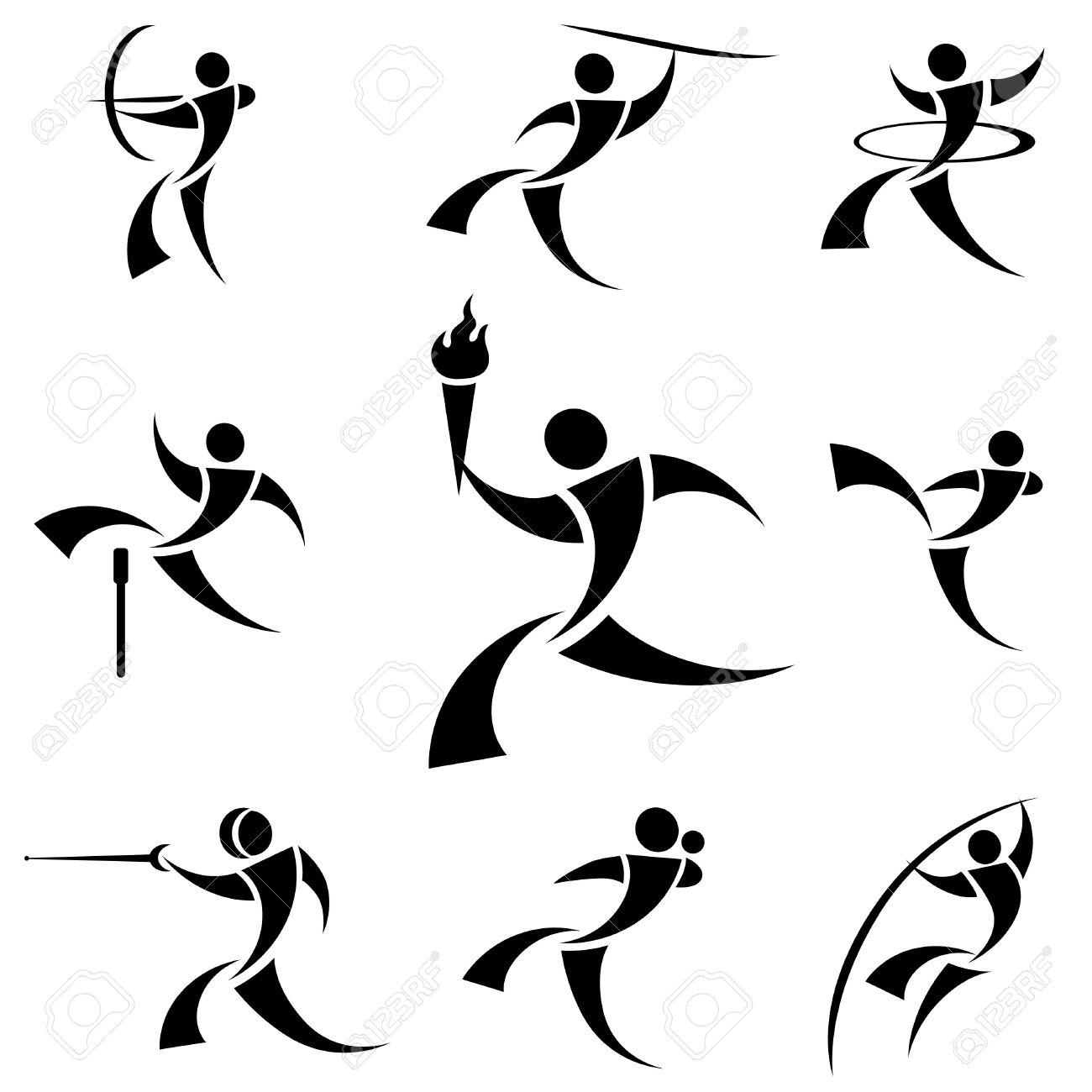 logotipo de deporte Foto de archivo - 8684836