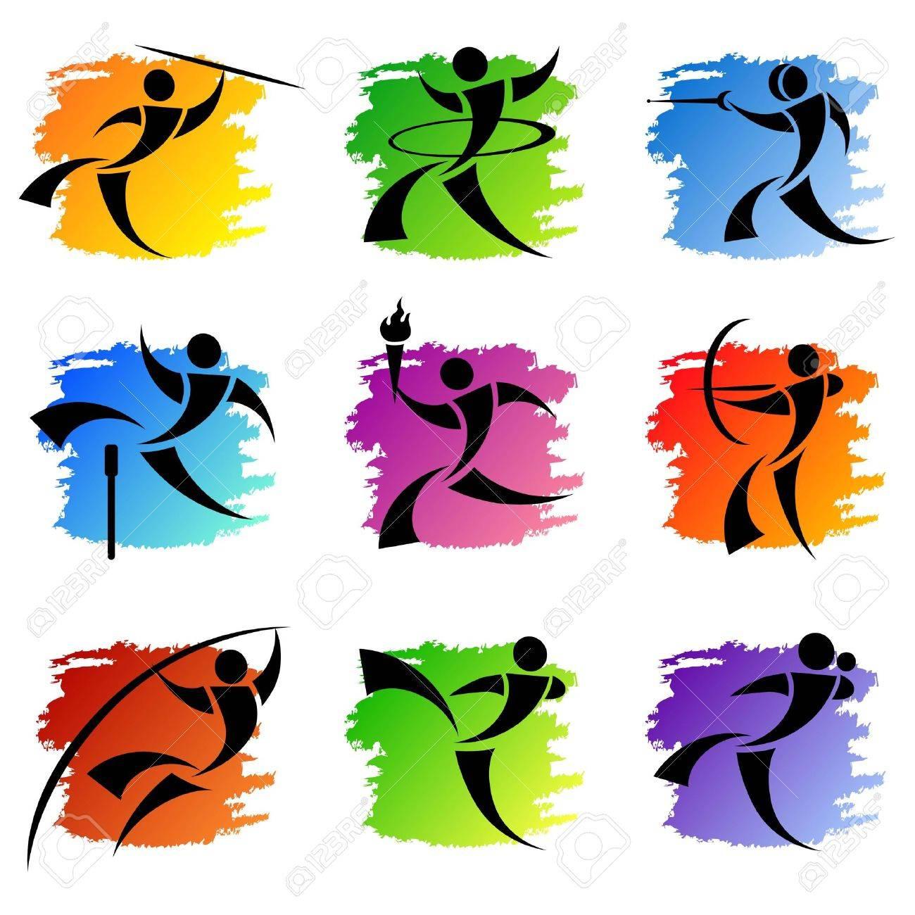 sport icons - 8684980