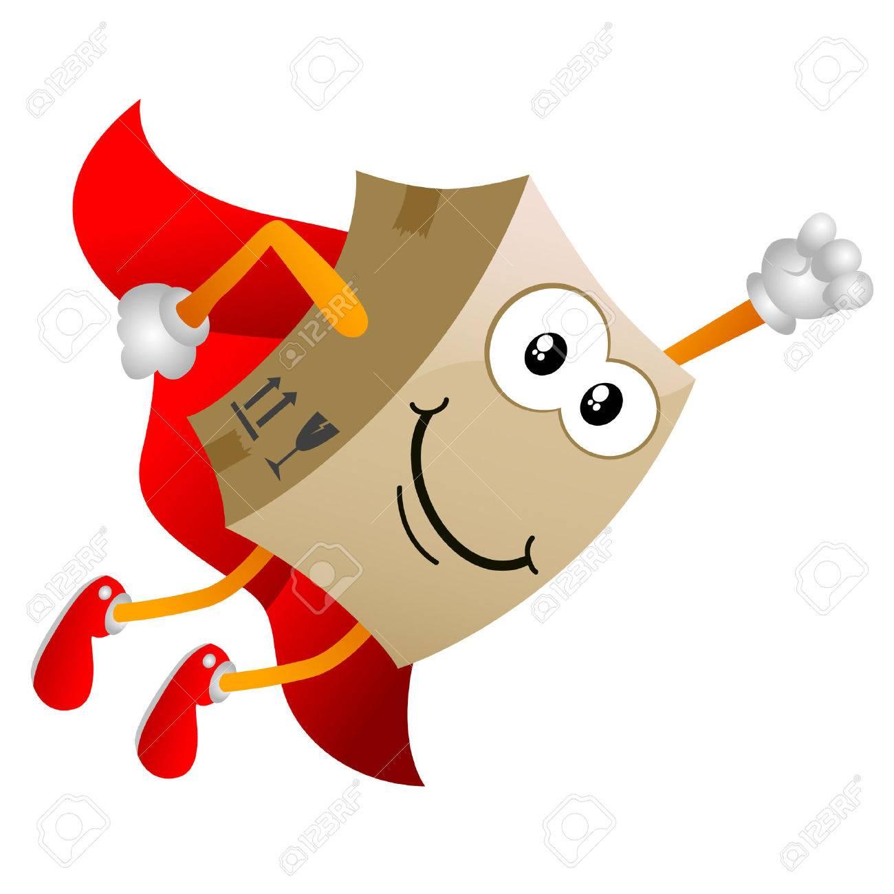 cardboard cartoon character - 8764911