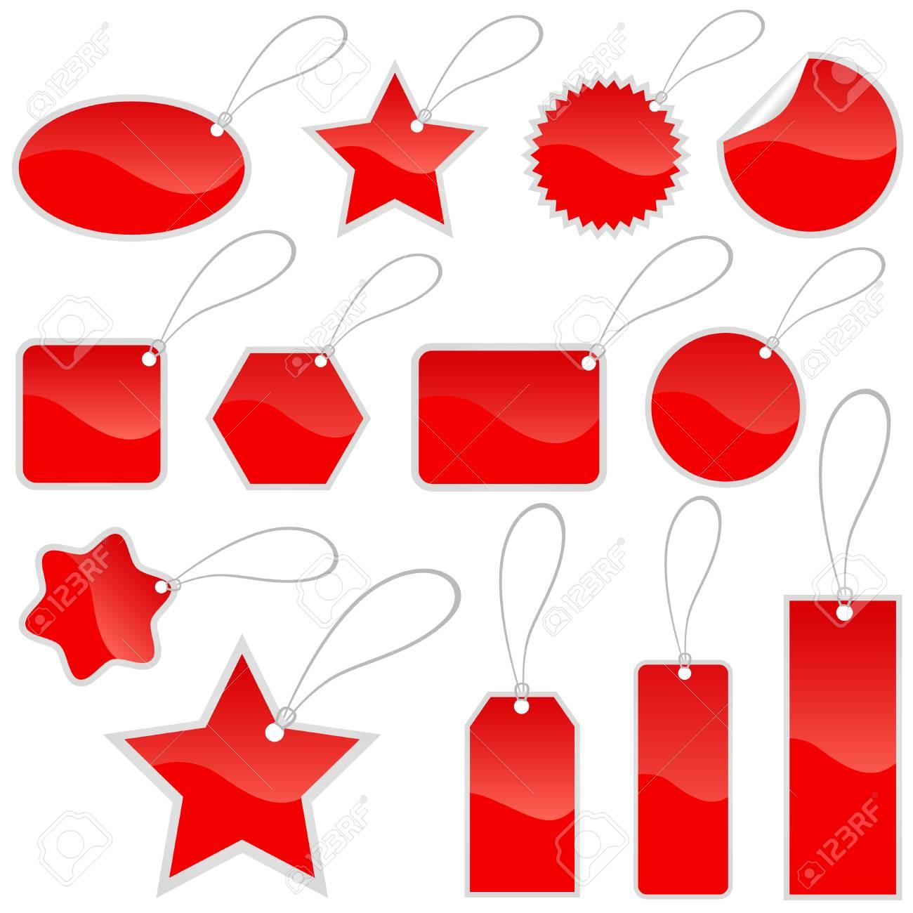 shopping tags Stock Vector - 8922337