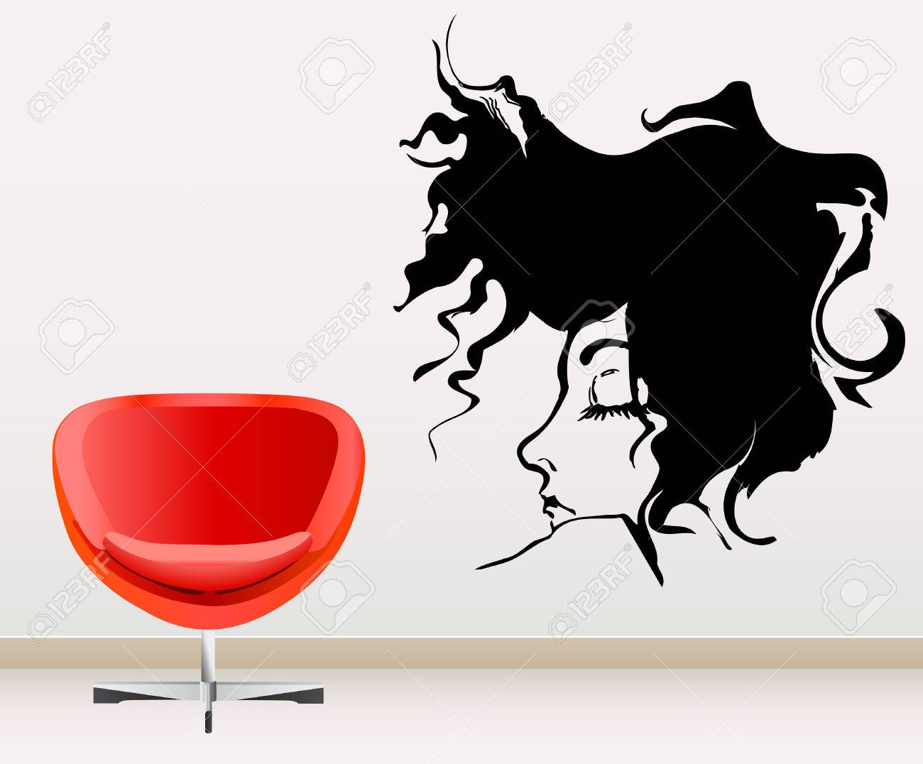 wall decoration Stock Vector - 9060142