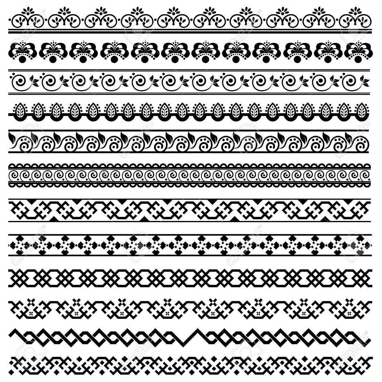 border decoration design elements Stock Vector - 9148449