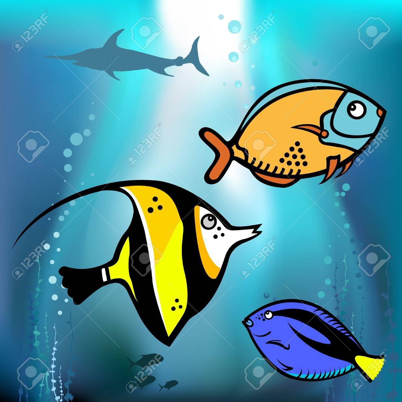 fish graphic vector Stock Vector - 9148476