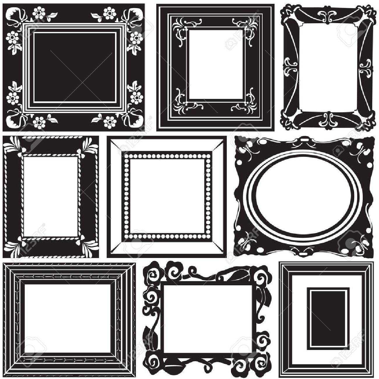 Picture Frame Vector Stock