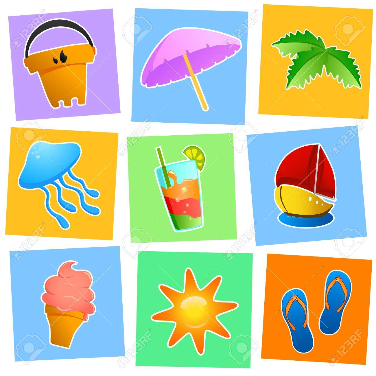 Summer Graphics Vector Royalty Free Cliparts, Vectors, And Stock ...