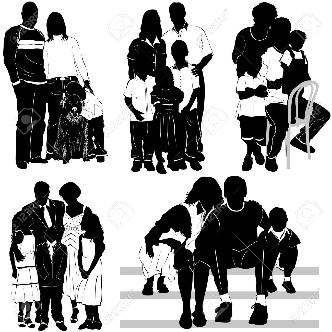 family vector stock vector 9402221