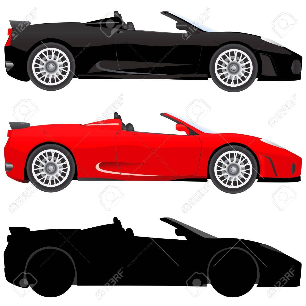 exotic car (illustration in detail) Stock Vector - 9447440