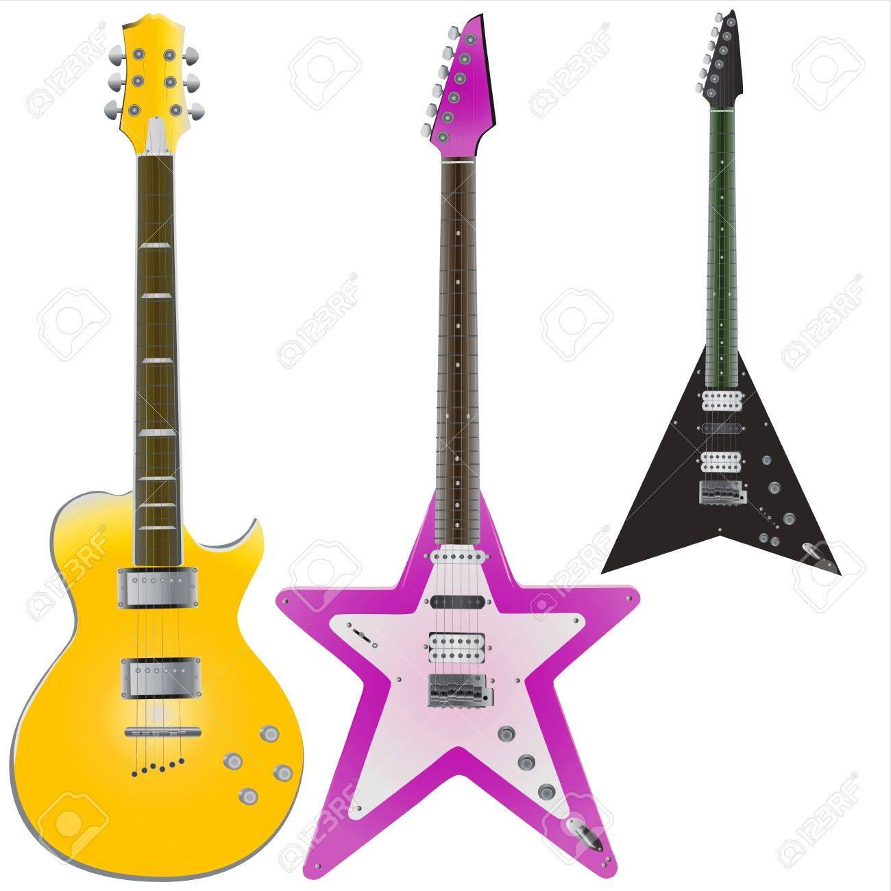 guitars vector Stock Vector - 9505750