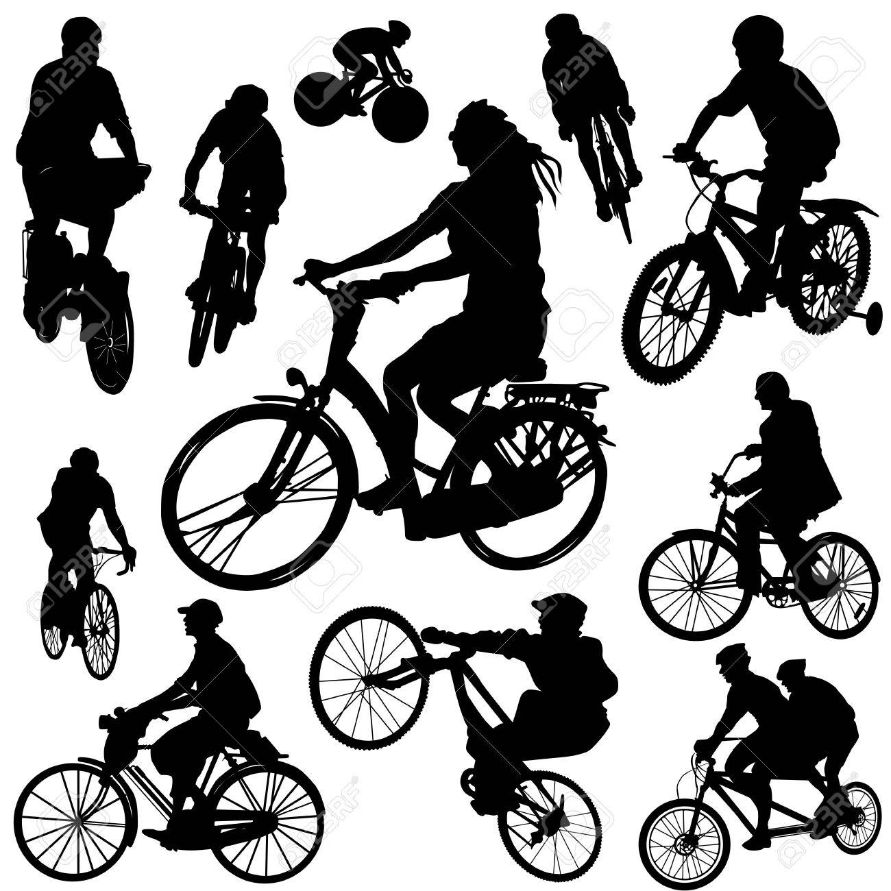 bicycle vector Stock Vector - 9592763
