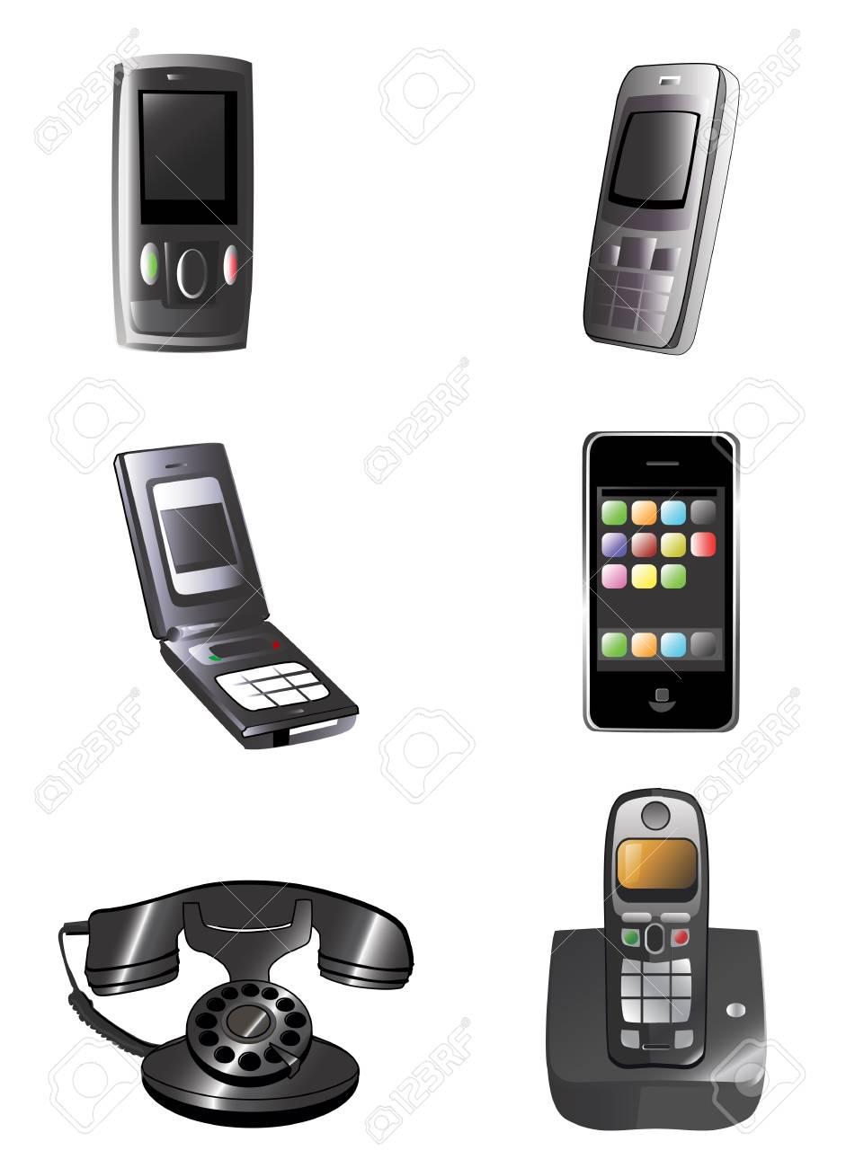 phone vector Stock Vector - 9592736