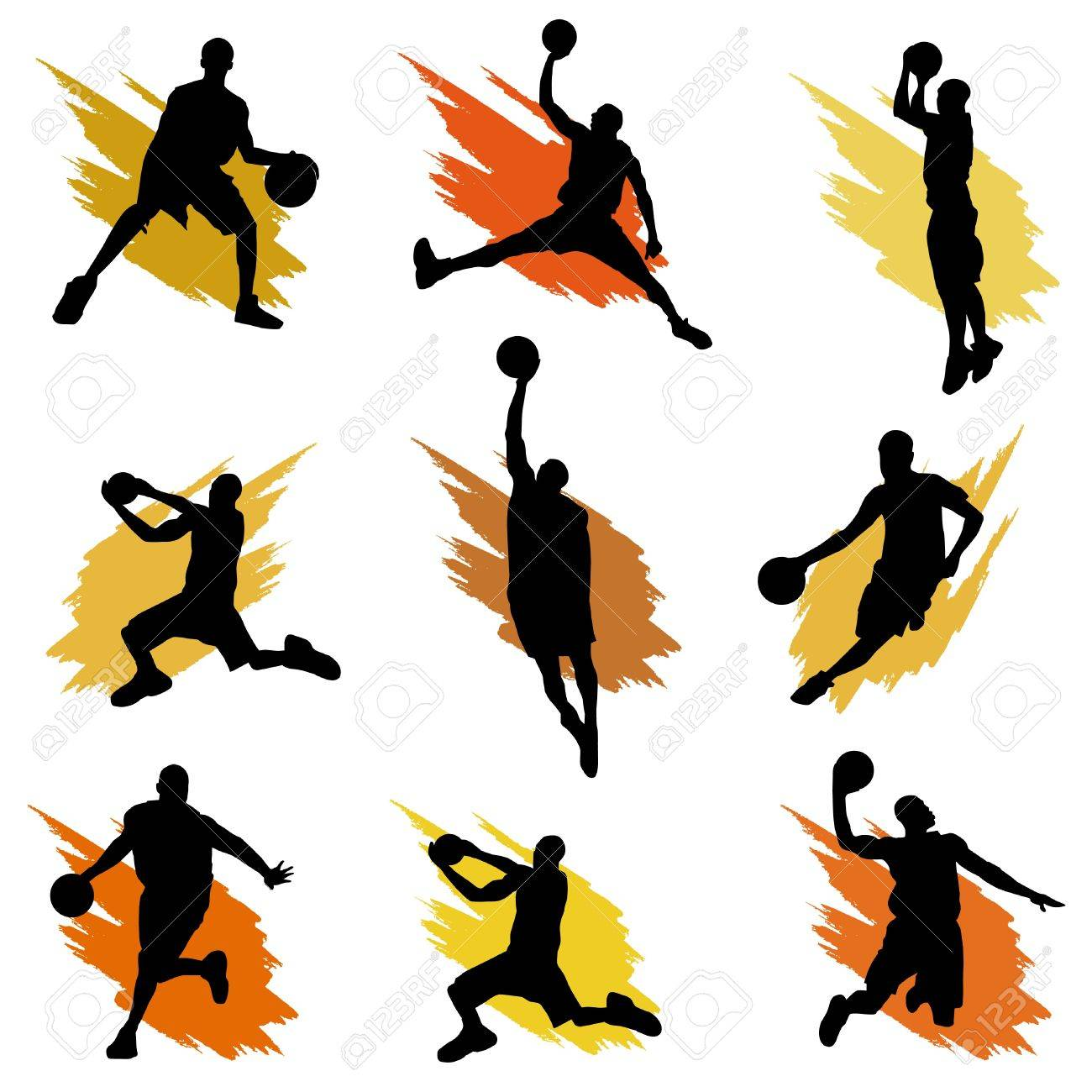 basketball Stock Vector - 9717440