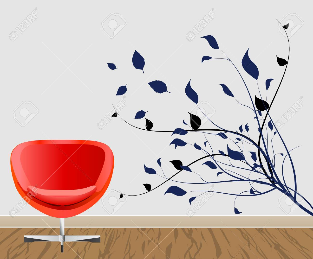 wall decoration Stock Vector - 9932111
