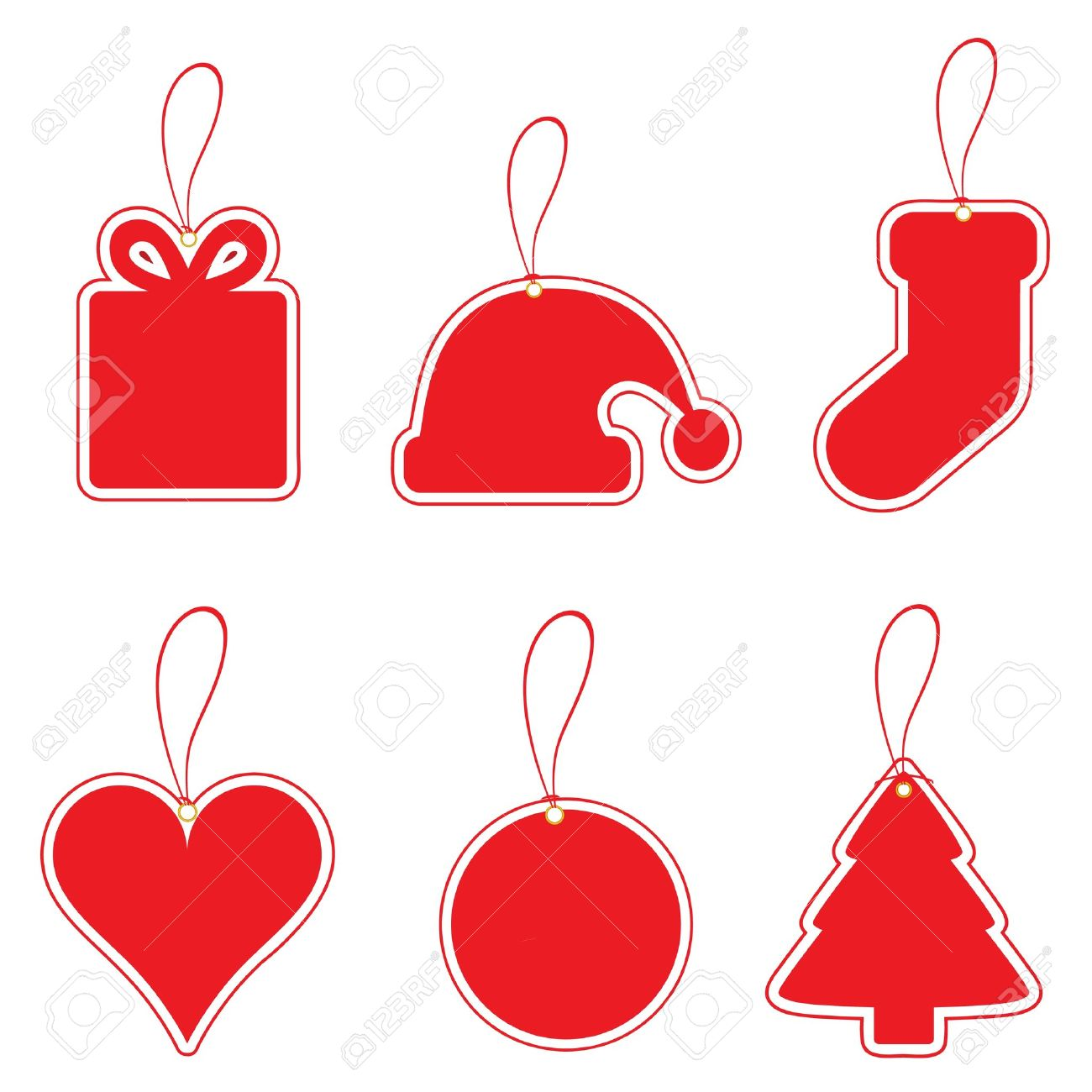 2 749 christmas coupon set stock illustrations cliparts and christmas coupon set christmas label set