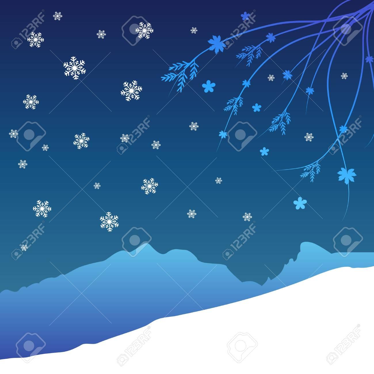 winter  background Stock Vector - 10900894