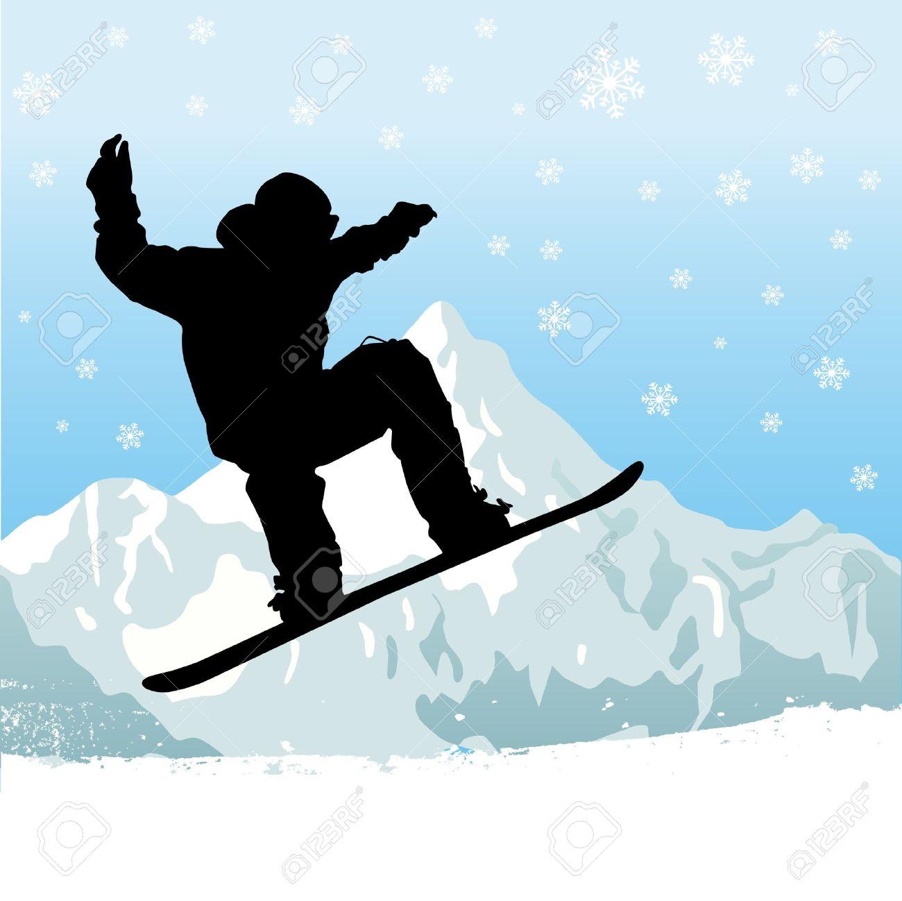 snowboarding royalty free cliparts vectors and stock illustration rh 123rf com snowboarding goggles clipart girl snowboarding clipart
